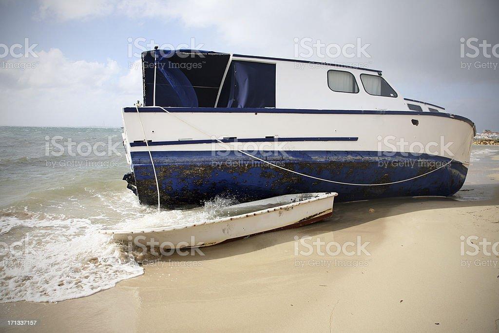 Ship Wrecked royalty-free stock photo