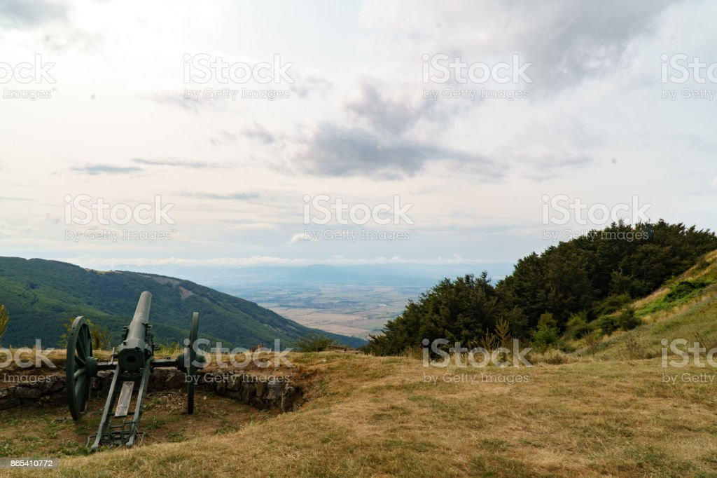 Shipka Pass stock photo
