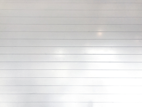 Shiplap Texture Background White Wall Stock Photo