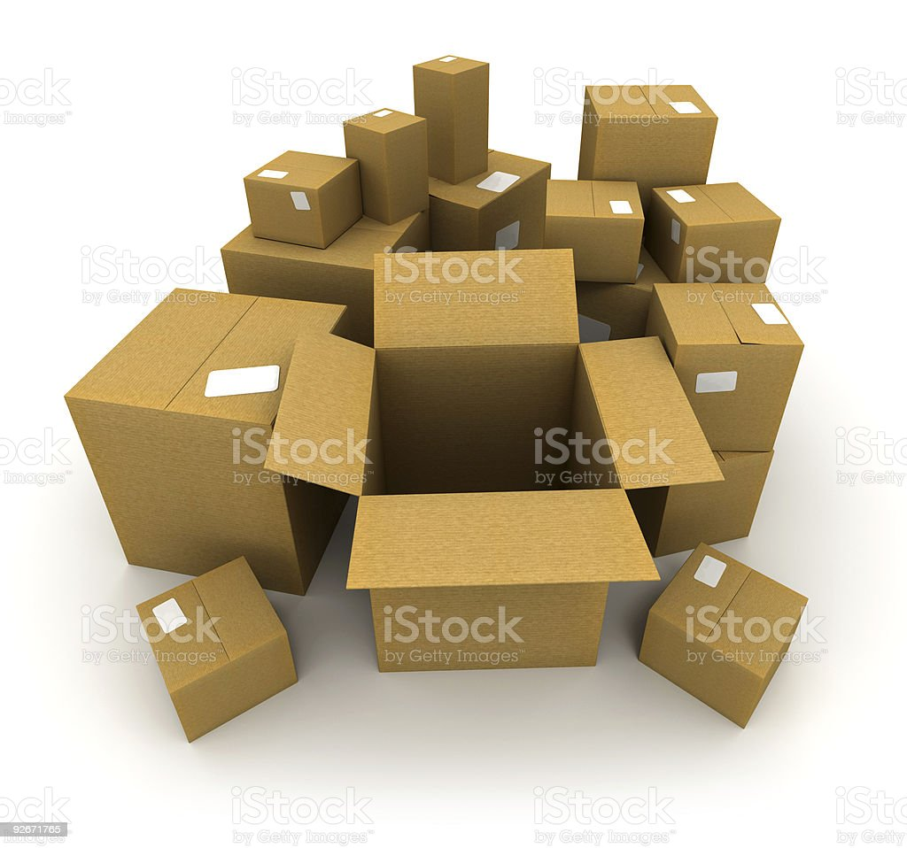Shipment royalty-free stock photo