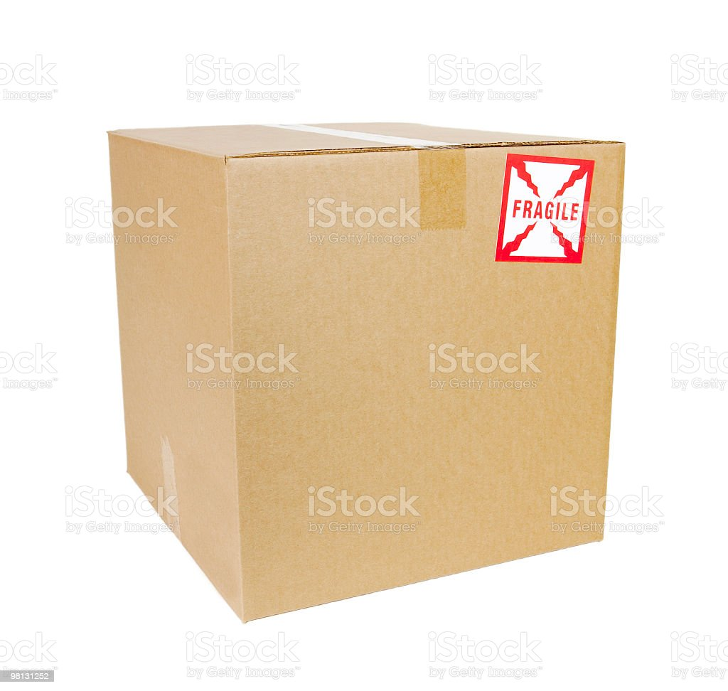 Shipping Box royalty-free stock photo