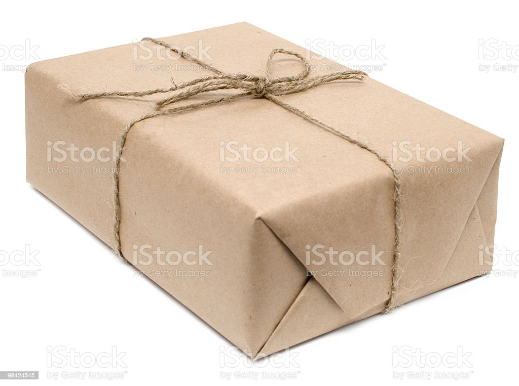 shipping box royalty-free stock photo