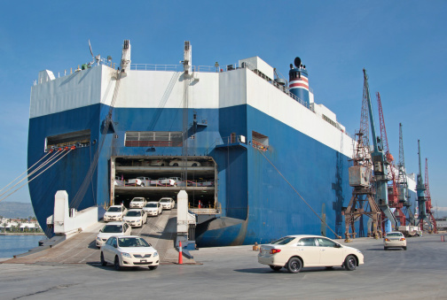 Shipping Cars RO-RO - Roll On/Roll Off