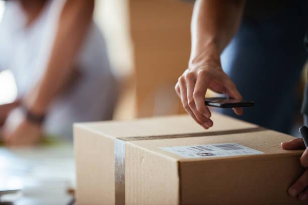 Shipping Company stock photo
