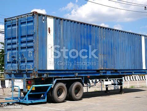 697974610 istock photo Shipping container 1046654050