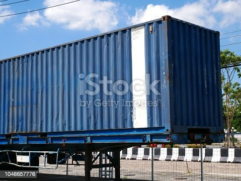 697974610 istock photo Shipping container 1046657776