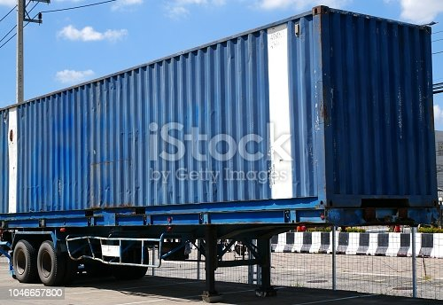 697974610 istock photo Shipping container 1046657800