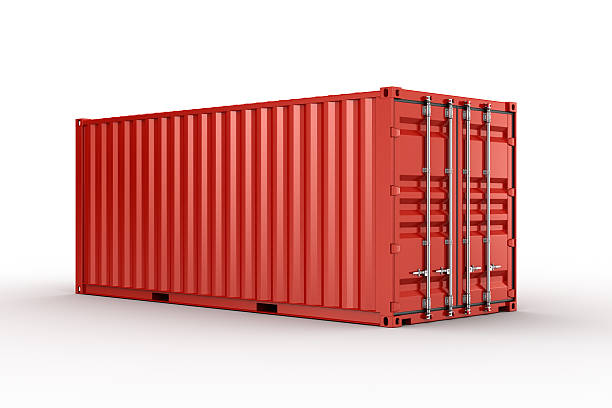 shipping container - container stock photos and pictures