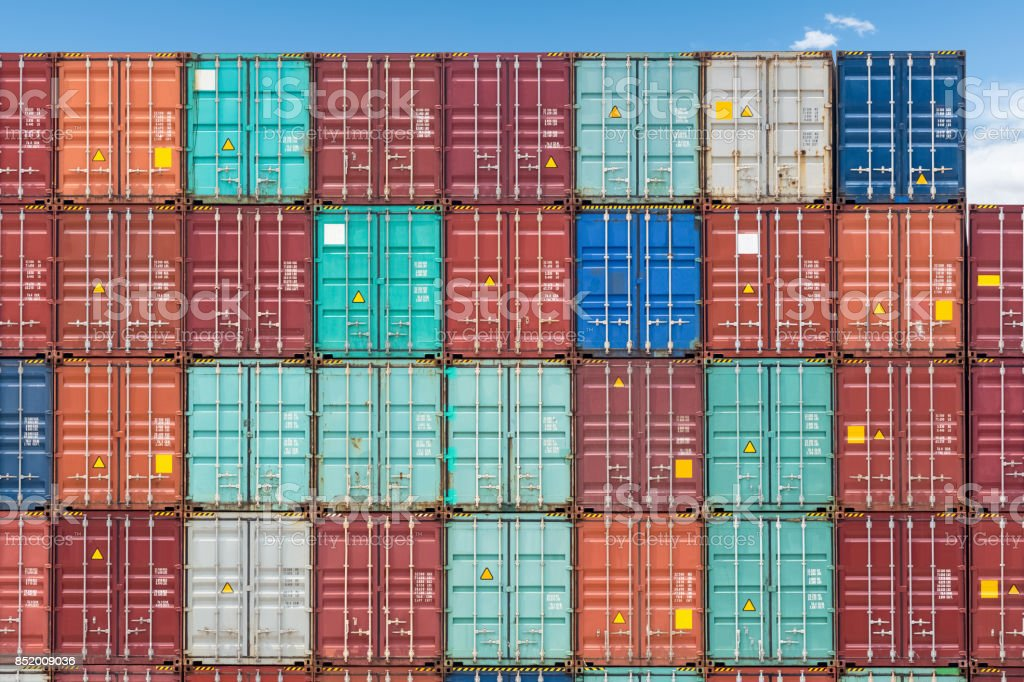 Shipping Container closeup – Foto