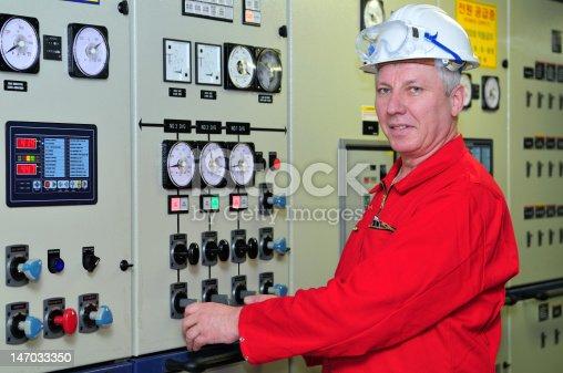 istock Shipping engineer 147033350