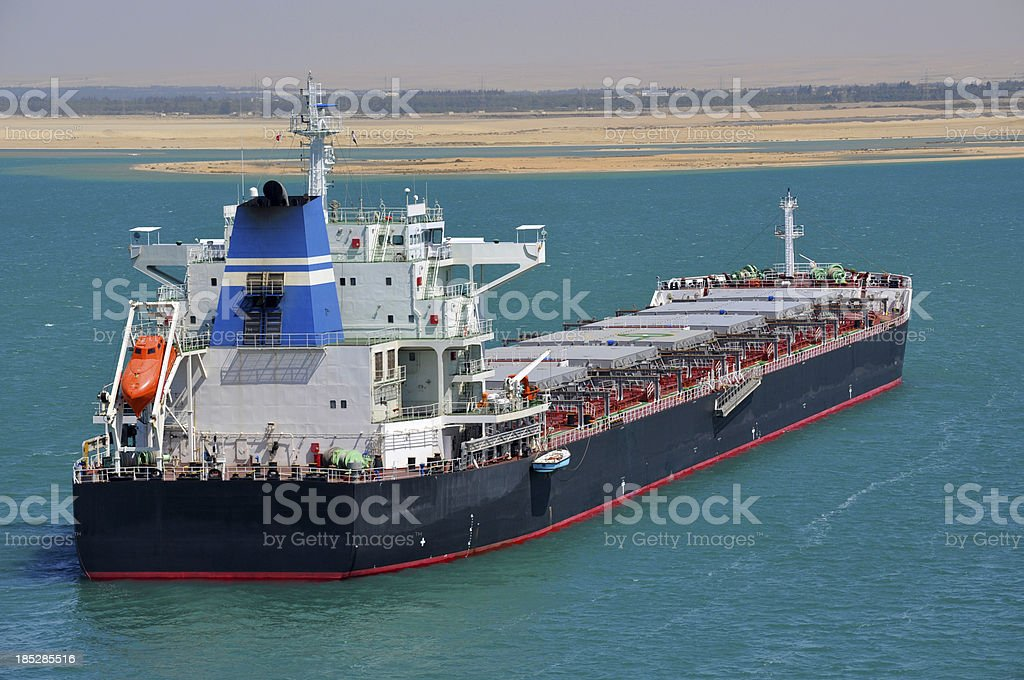 Shipping Industry: Bulk Carrier stock photo