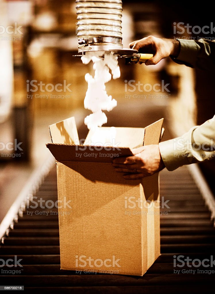 Shipping Merchandise stock photo