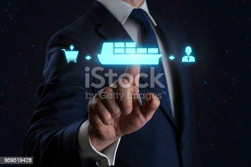 641289780 istock photo Shipping Method - Ship Cargo 959519428