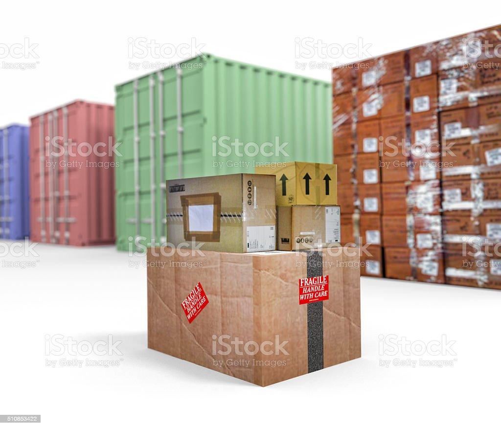 Shipping stock photo