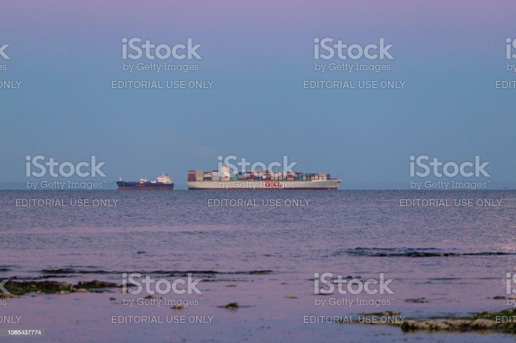 Navire d'expédition - Photo