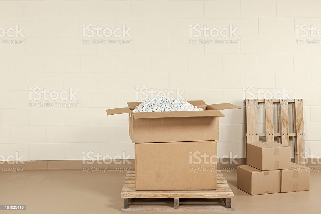 Shipping Warehouse royalty-free stock photo