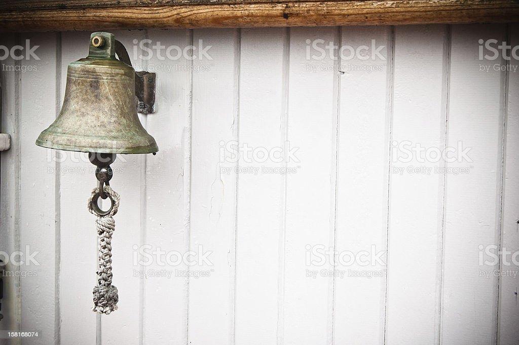 ship's Bell auf einem alten Segelschiff – Foto