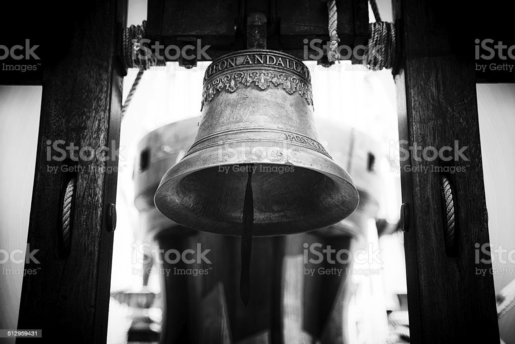 Ship's Bell stock photo