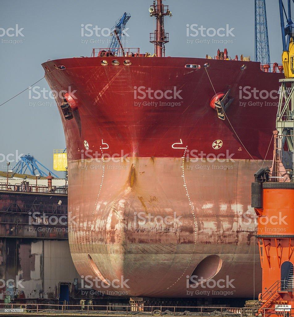 Ships Bow royalty-free stock photo