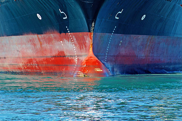 ship's bow - hull stock pictures, royalty-free photos & images