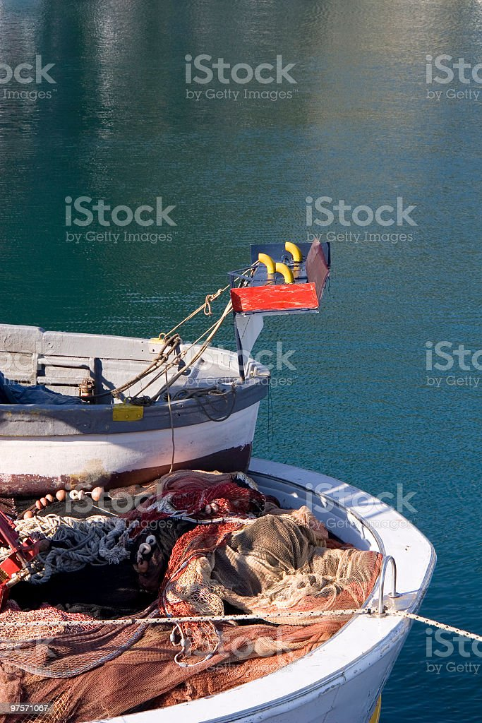 Ship's Bow royalty-free stock photo