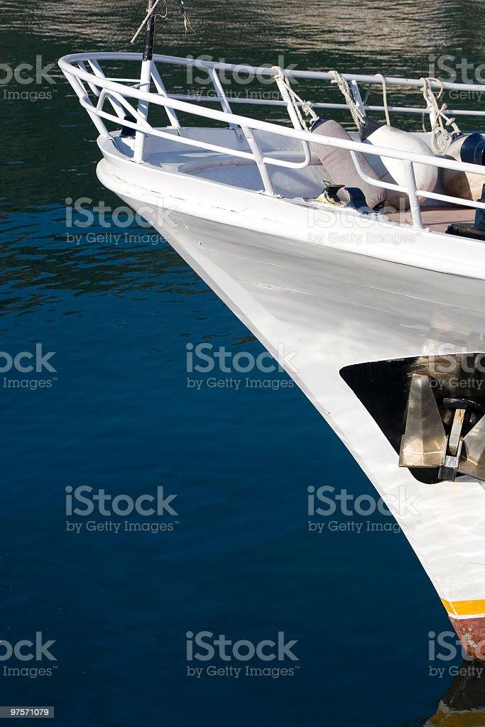 Ship's Bow royalty-free stock photo