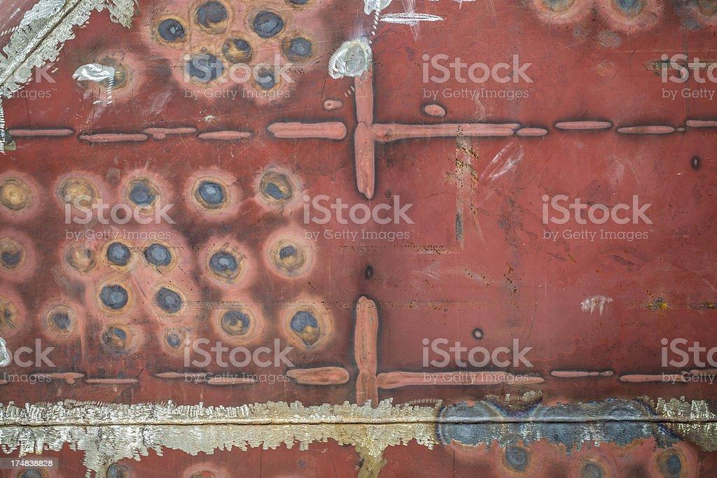 ship's hull surface texture royalty-free stock photo