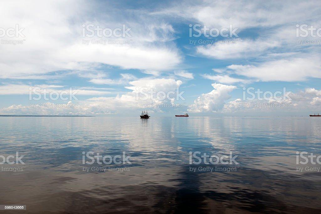 ships in the dock photo libre de droits