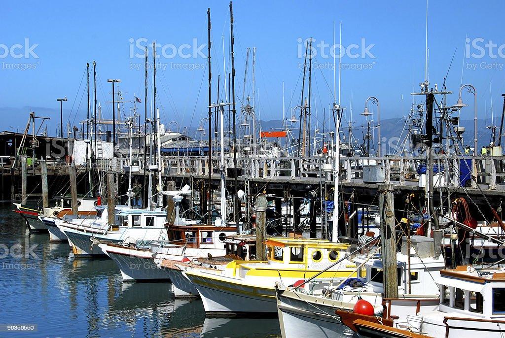 Ships in the Harbor royalty-free stock photo