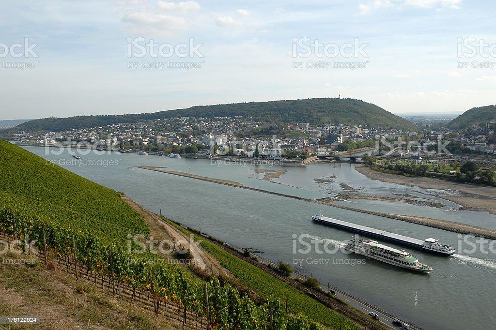 Schiffe auf den Rhein – Foto