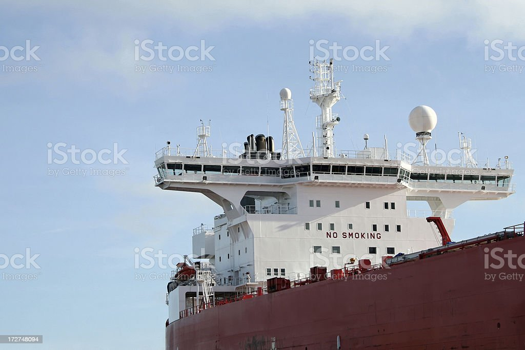 Ships Superstructure stock photo