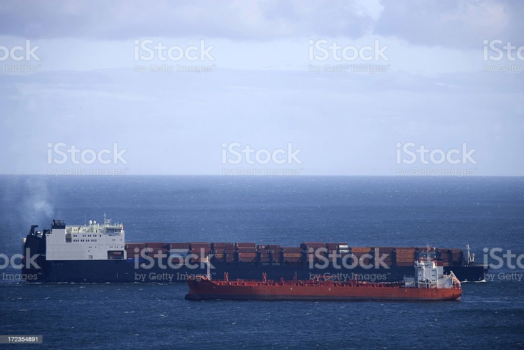 ships trafic royalty-free stock photo