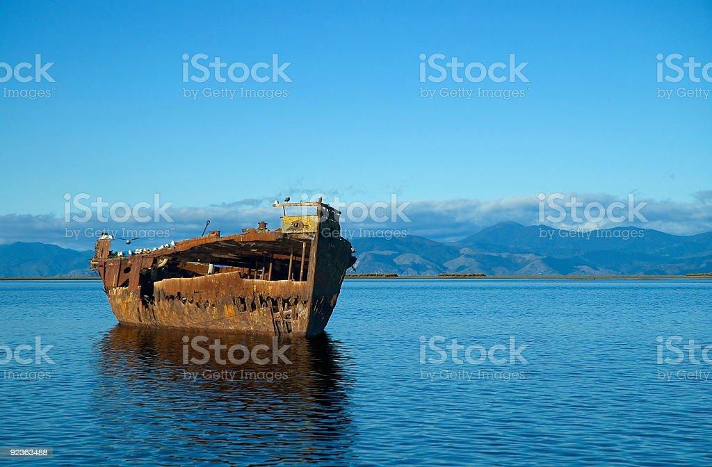 Shipwreck 02 royalty-free stock photo