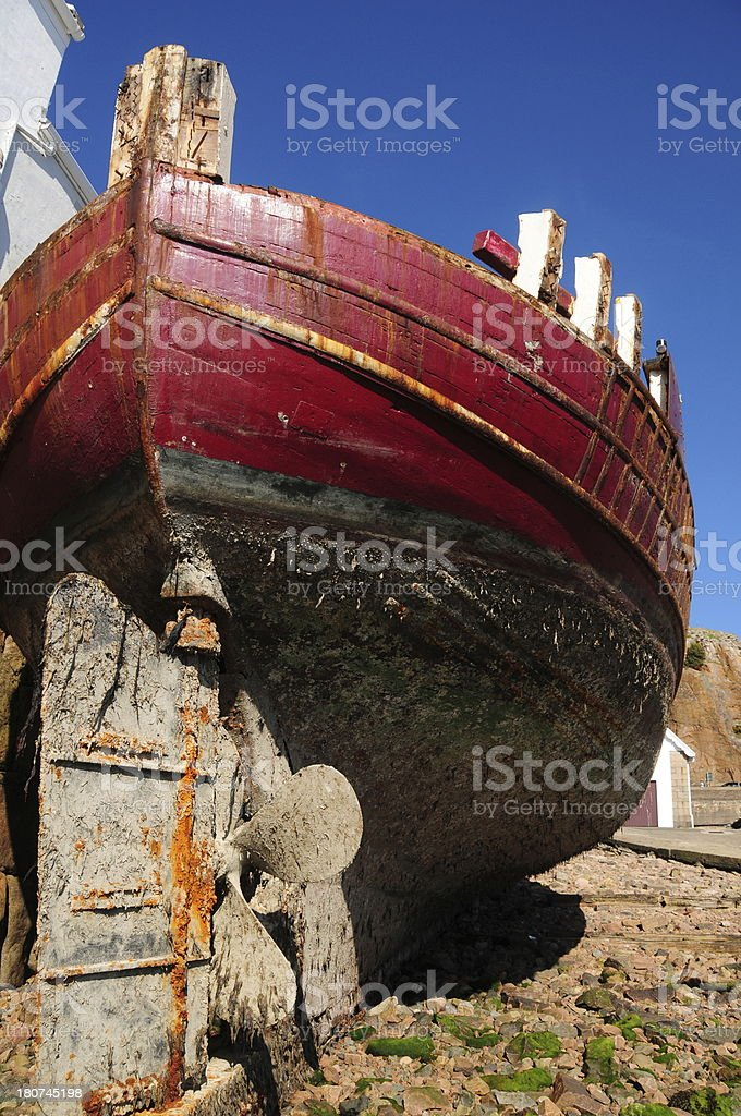 Shipwreck, Jersey. royalty-free stock photo