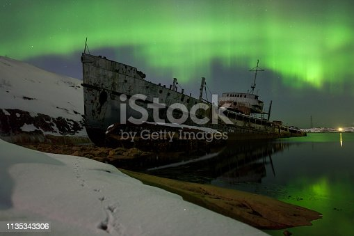 Cemetery of Forgotten Ships, Pala Bay, Murmansk Region