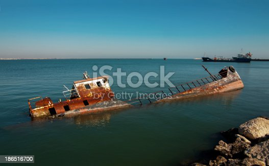 Shipwreck Stock Photo & More Pictures of Abandoned