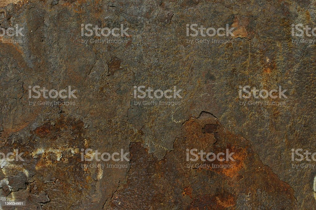 Shipwreck Rust royalty-free stock photo