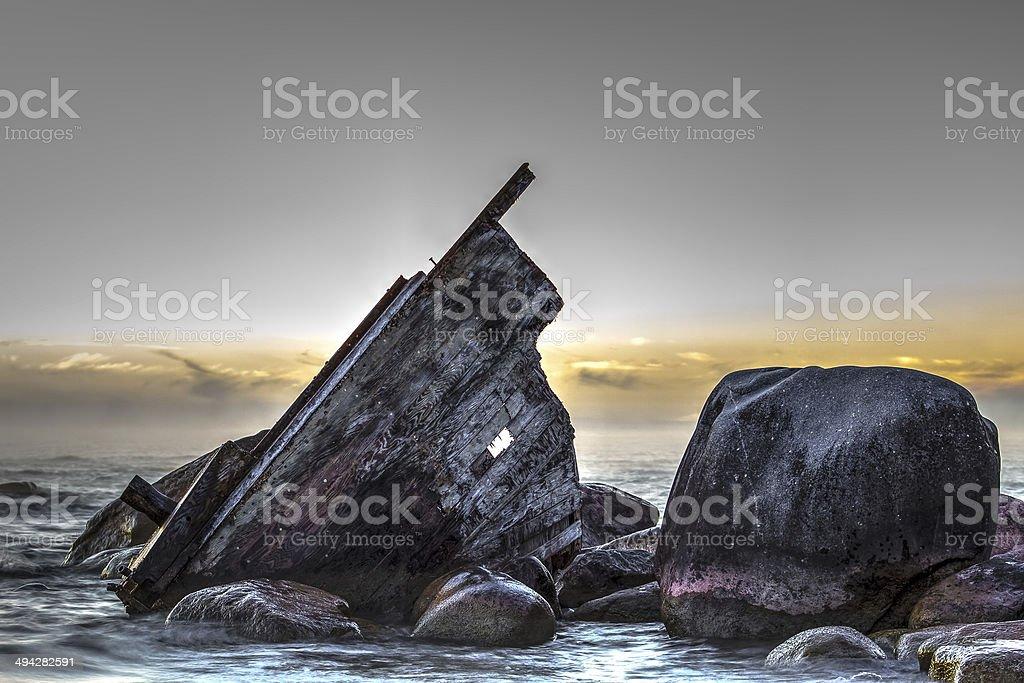 Shipwreck Shores stock photo