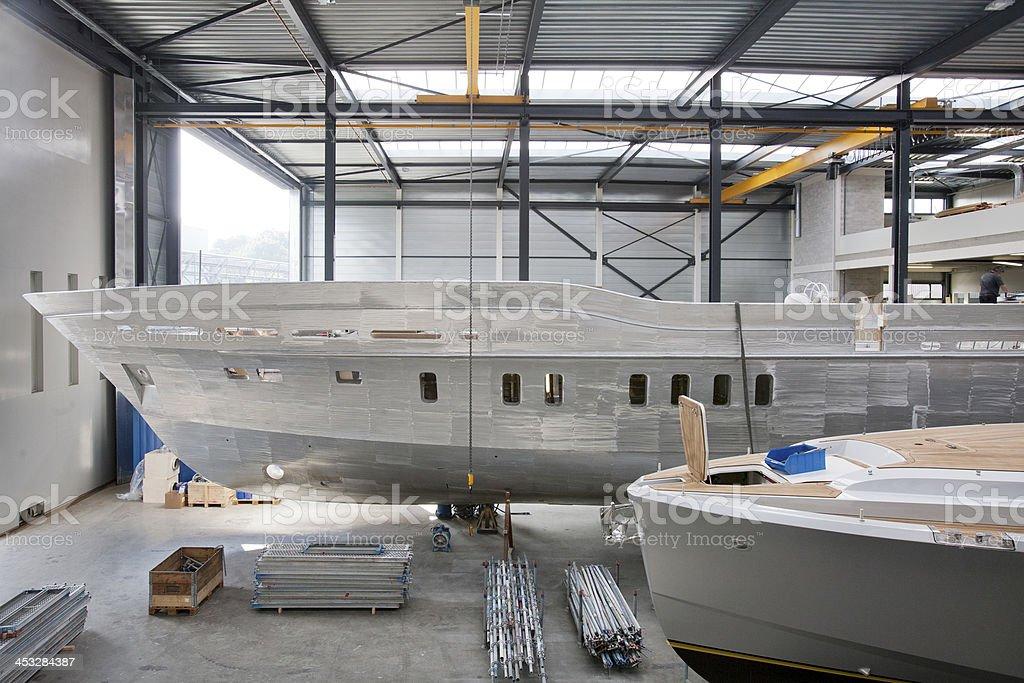 Shipyard - foto de stock