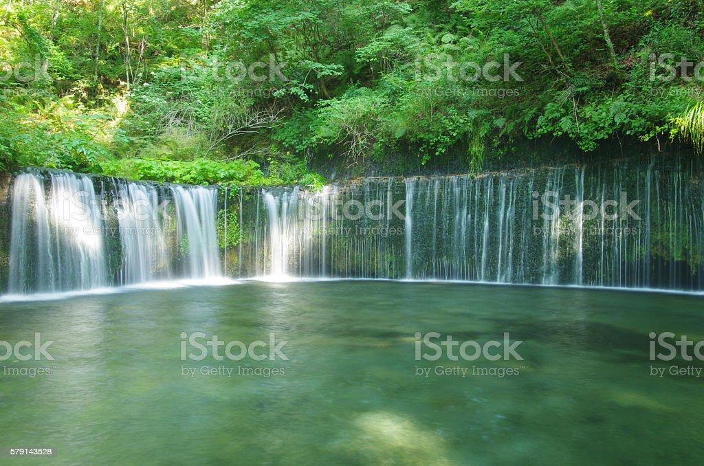 Shiraito Falls Karuizawa ストックフォト