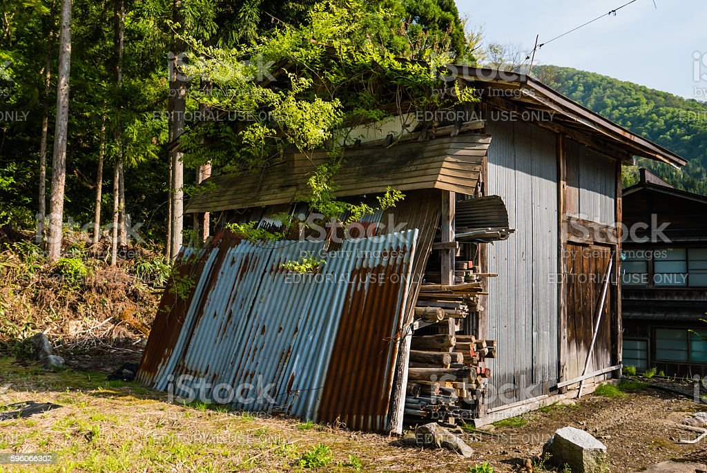 Shirakawa-go royalty-free stock photo