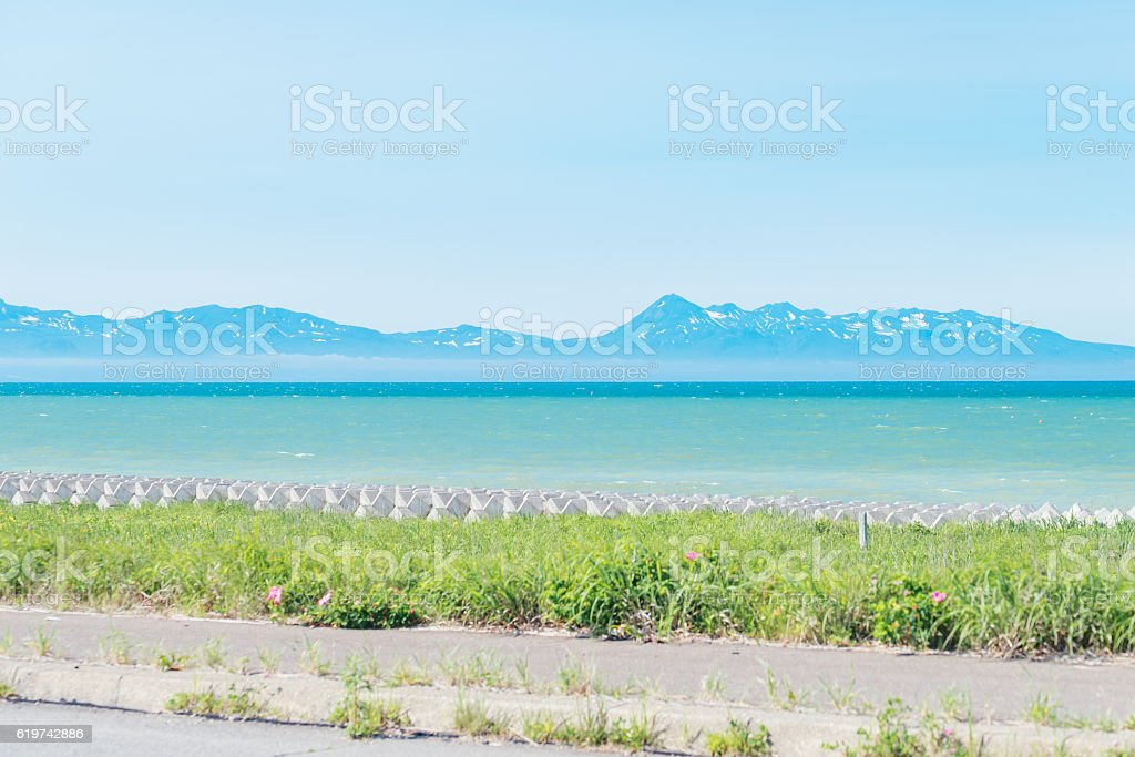 Shiretoko Peninsula stock photo
