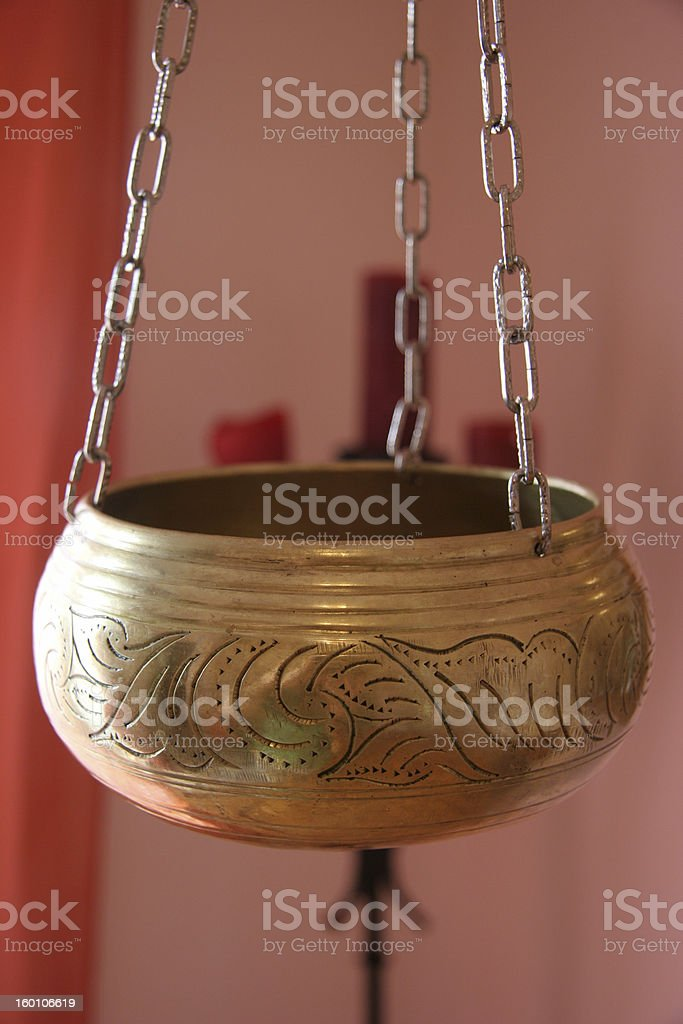 Shirodhara royalty-free stock photo
