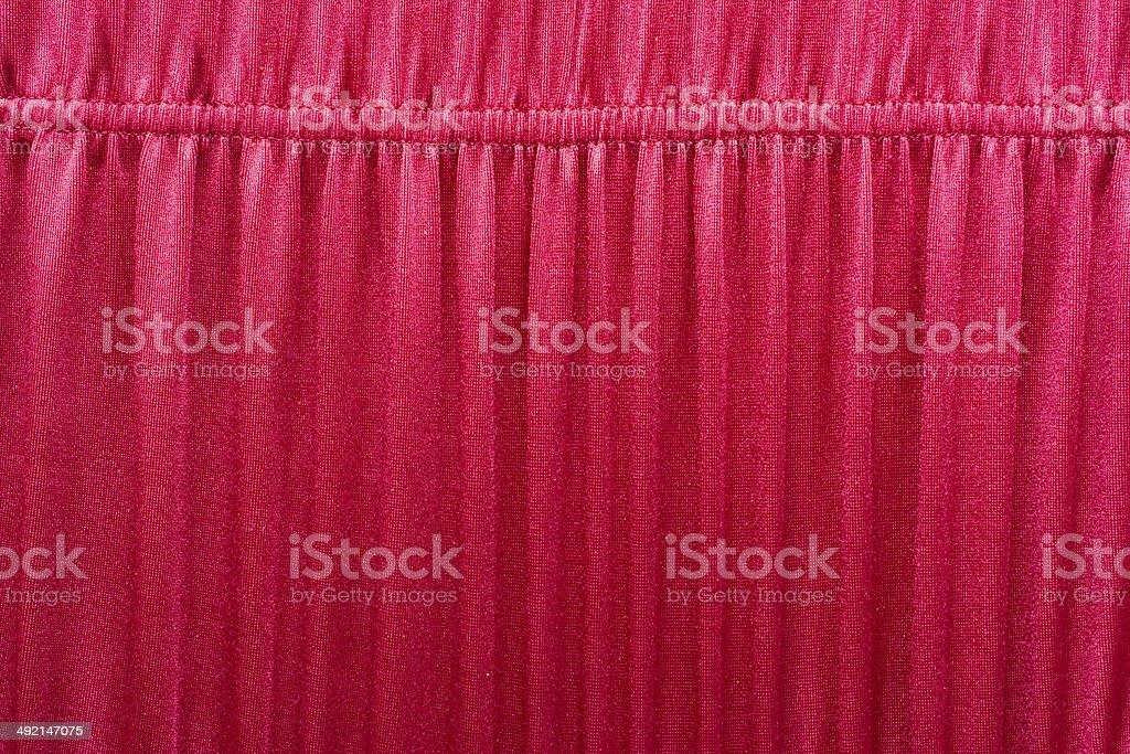 shirred red stock photo