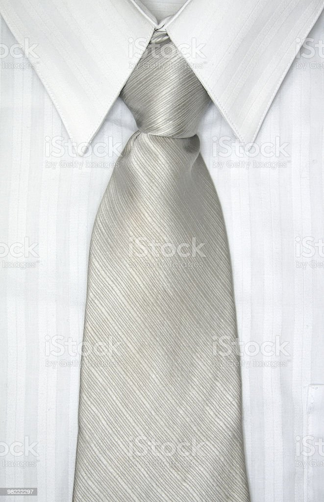 Camicia e cravatta foto stock royalty-free