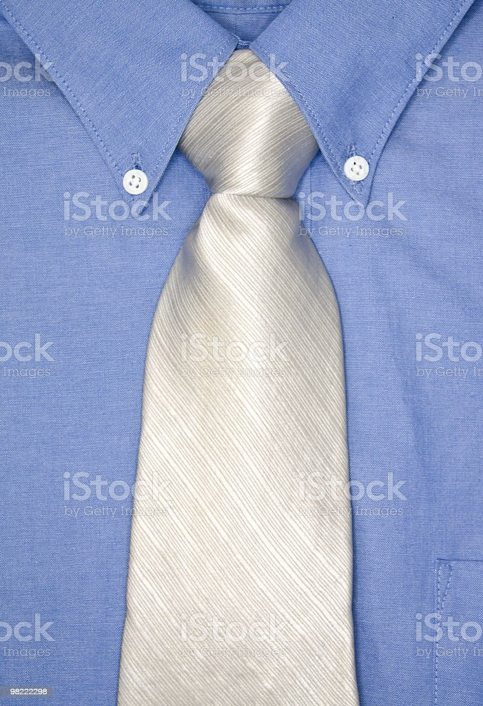 Shirt and Tie royalty-free stock photo
