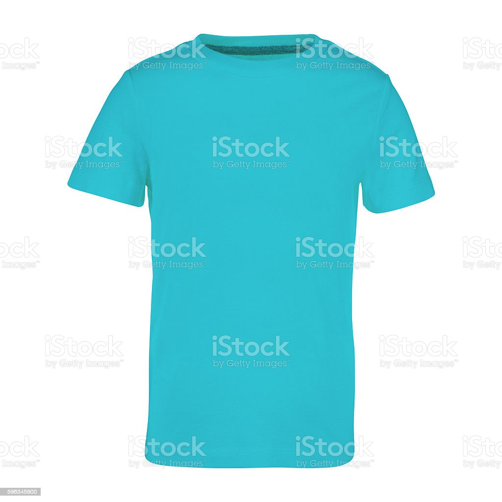 shirt isolated on white royalty-free stock photo