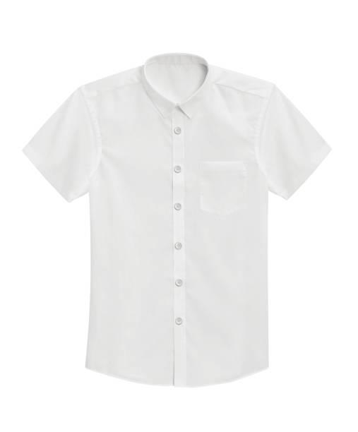 camisa isolada - branco - camisa - fotografias e filmes do acervo