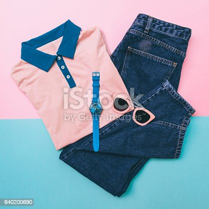 640200626istockphoto shirt, jeans and accessories 640200690