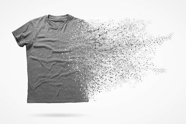 shirt - disintegrate stock pictures, royalty-free photos & images